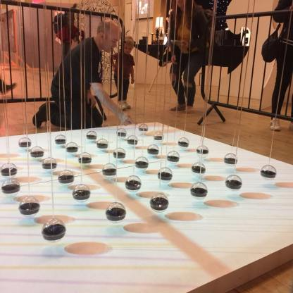 36 Magnetic Pendulums - Bridlington, Exhibition view